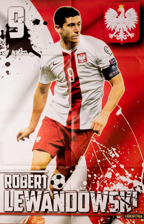 GIGA SPORT EXTRA wyd. 18/2015 - megaplakat Robert Lewandowski