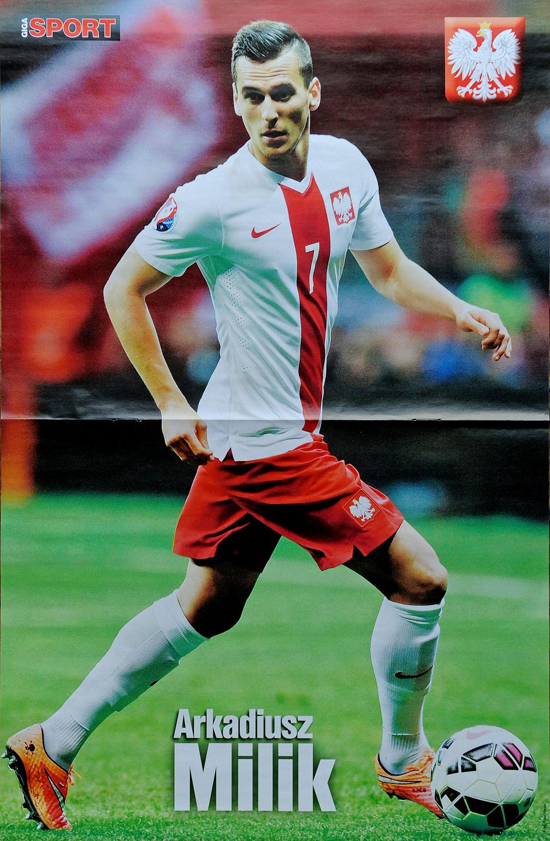 GIGA SPORT nr 12/2014 s. 46 - Arkadiusz Milik - plakat