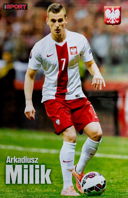 GIGA SPORT nr 4/2015 - plakat Arkadiusz Milik