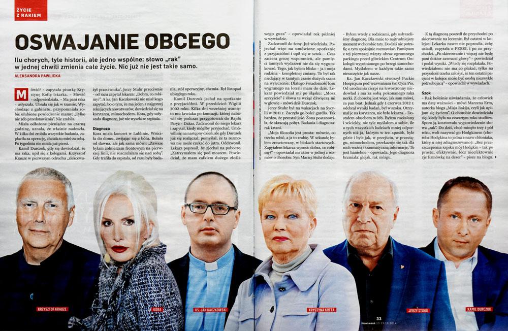 NEWSWEEK nr 42/2014 s. 33 - Krystyna Kofta