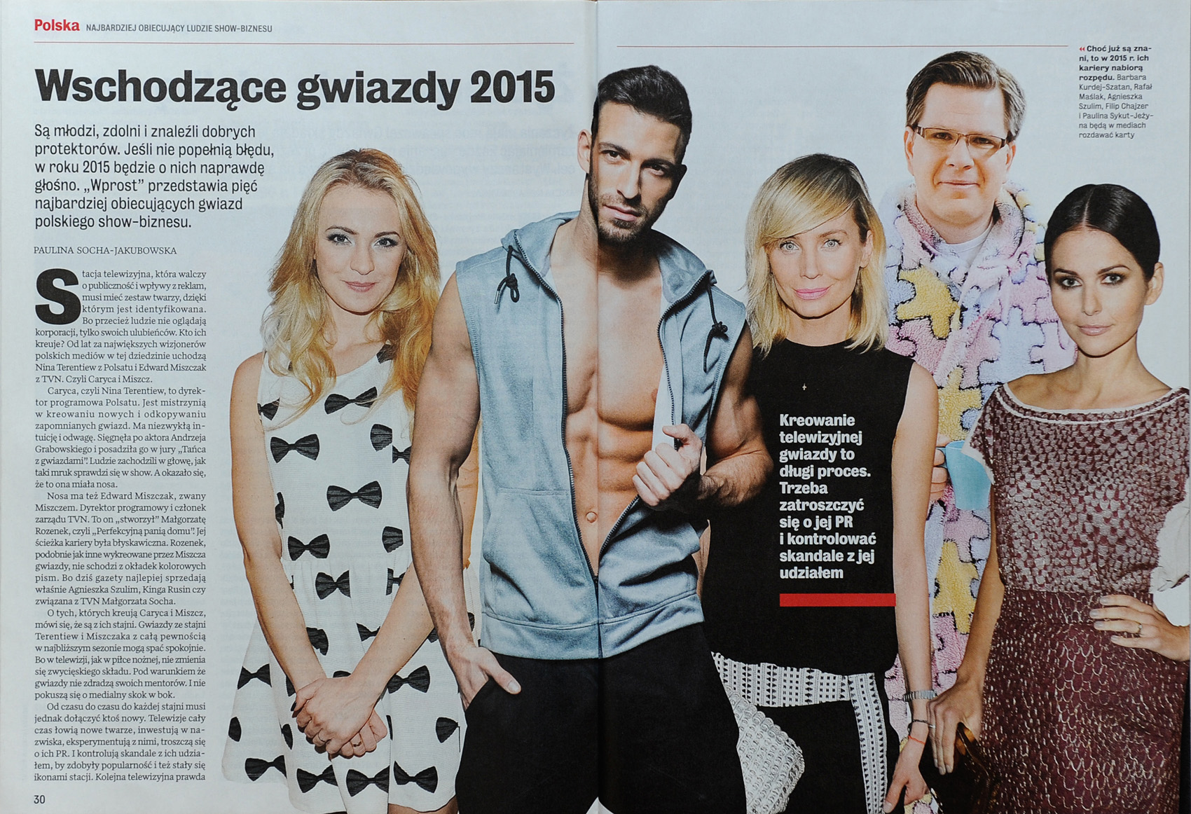 WPROST nr 1/2015 s. 30-31 - Filip Hajzer