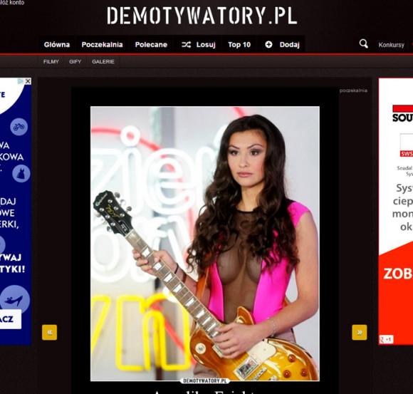 portal DEMOTYWATORY.pl 16.10.2013 r. - Angelika Fajcht