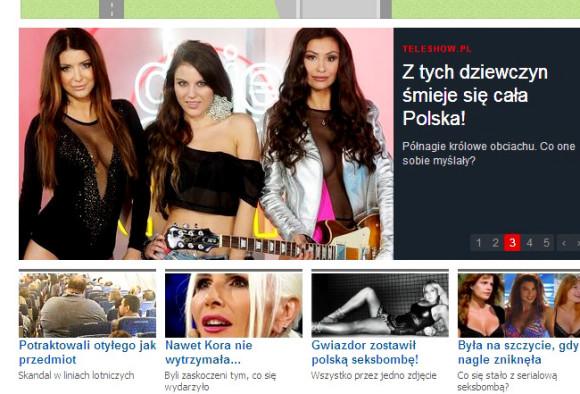 portal WP.pl 15.10.2013 - Patty i jej zespół m.in. Angelika Fajcht