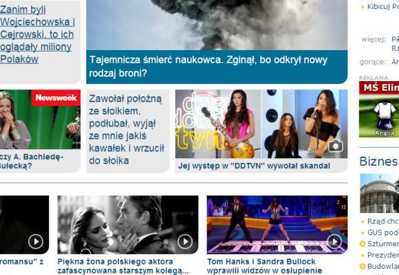 portal ONET.pl 15.10.2013 r. - Patty z zespołem, po prawej Angelika Fajcht